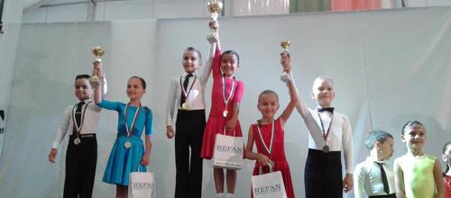 Михаил Симеонов и Мира Филева с ПЪРВО място на Международен турнир – Албена 2015